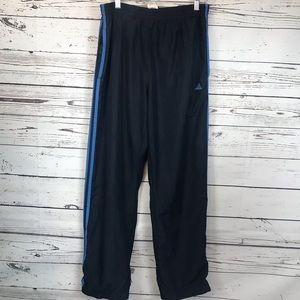 Adidas Navy Blue Warmup Pants Large